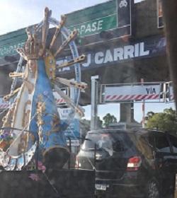 Virgen cortada foto